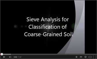 Sieve Analysis With Dual MFG Sieves