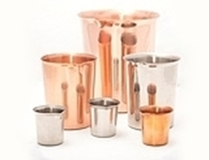 Metal Beakers, Nickel Crucibles, Aluminum Sample Dishes