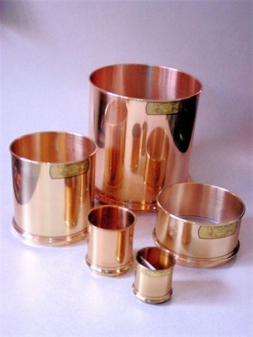 12 Inch (in) x 4 Inch (in) Brass Mesh Deep Frame Wash Sieves