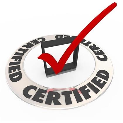 Sieve Certification