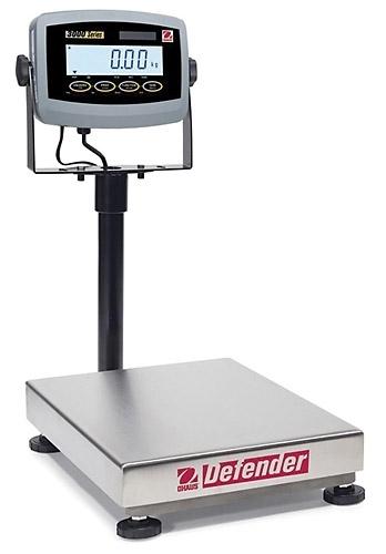 150 Pounds (lb) / 60 Kilograms (kg) Ohaus Defender 3000 Bench Scales