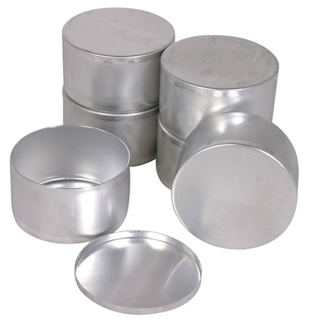 Aluminum Dishes with Covers