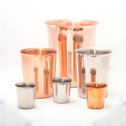 Metal & Glass Beakers
